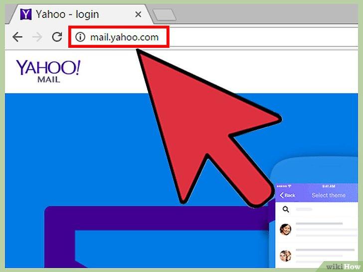 صورة عنوانها Change A Password in Yahoo! Mail Step 1