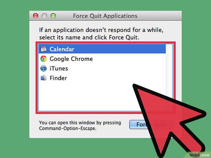 صورة عنوانها Force Quit an Application in Mac OS X Step 8