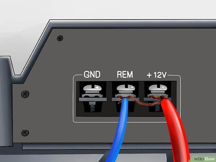 Rem Amplifier Wiring Diagram