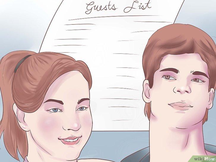 Die eigene Hochzeit planen  wikiHow