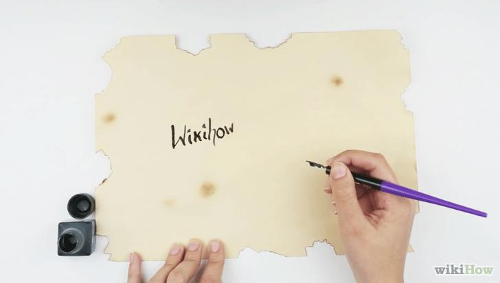 cómo hacer pergaminos 13