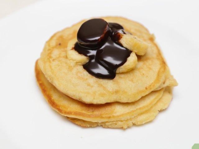 Schnelle und einfache Pancakes