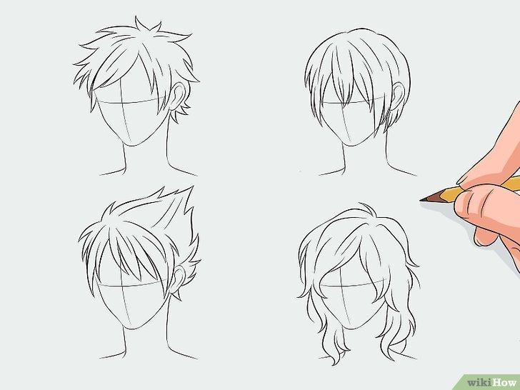 Manga Haare Zeichnen – WikiHow