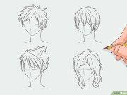 manga haare zeichnen wikihow