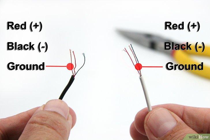 hunter thermostat wiring diagram honeywell 4 wire cómo hacer tu propio cable auxiliar: 7 pasos (con fotos)