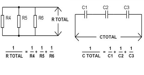 Rangkaian Seri Paralel Resistor Dan Kapasitor Serta Hitungannya