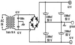 Cara Membuat Rangkaian Power Supply CT Simetris2