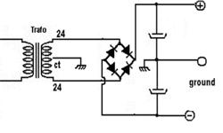 Cara Membuat Rangkaian Power Supply CT Simetris3