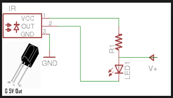 Cara Membuat Rangkaian Alat Test Remote TV Dengan Sensor Inframerah
