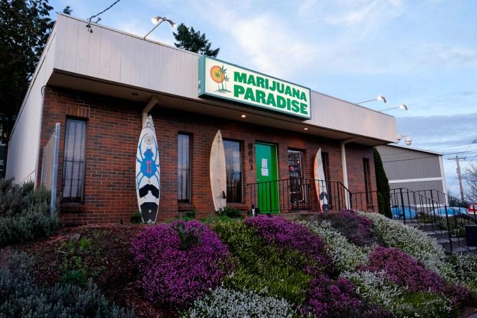 marijuana paradise, a portland oregon dispensary