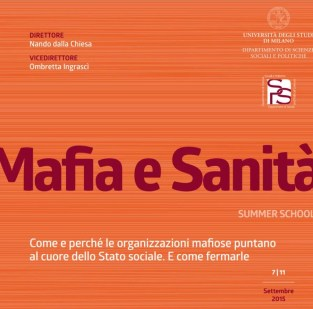 mafia e sanità summer school