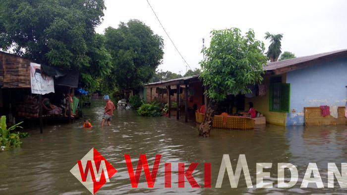 Medan Labuhan Terendam Banjir