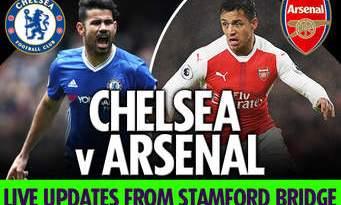 Chelsea Kalahkan Arsenal 3-0