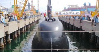 Kapal Selam KRI Nagapasa-403 Tiba di Indonesia Akhir Agustus