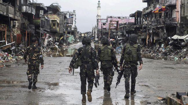 Filipina Tangkap Istri Petinggi ISIS Marawi Asal Bekasi