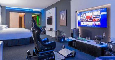 kamar hotel rancangan alienware