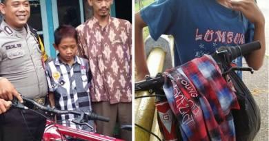 Viral, Bocah Santri Asal Majalengka Bermudik dari Cianjur Mengayuh Sepeda Selama Dua Hari