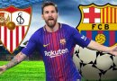 Cuplikan Pertandingan Sevilla vs Barcelona 2018