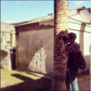 Fotografia del safari fotografico a Pompei