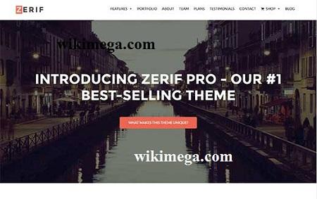 zerif pro single page wordpress theme, zerif pro download free, zerif pro one page theme