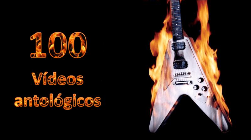 100 vídeos Heavy Metal