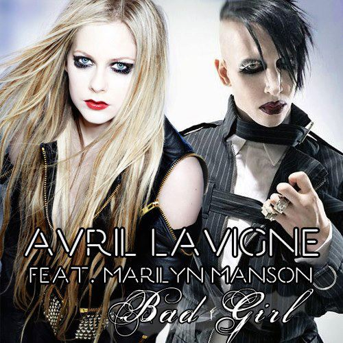 Marilyn Manson grava com Avril Lavigne