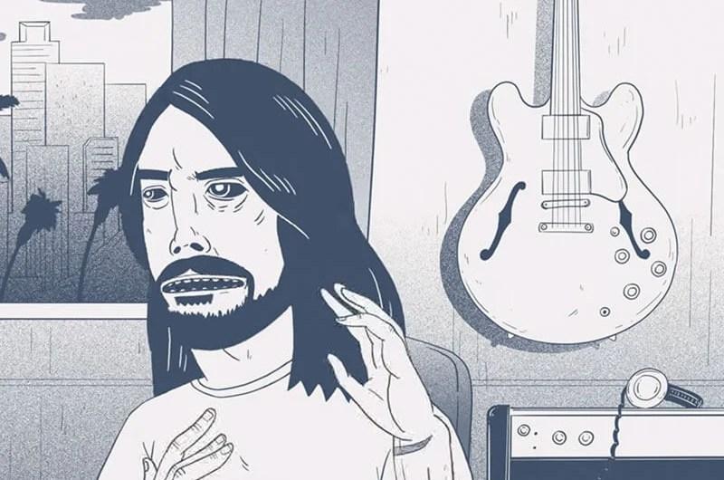Foo Fighters divulga making of animado de Concrete and Gold