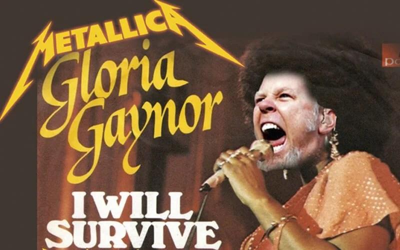 "Metallica e Gloria Gaynor: Ouça o mashup de ""One"" e ""I Will Survive"""