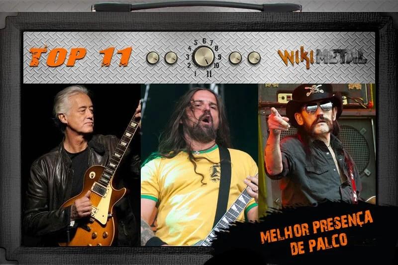 Top 11: Músicos com melhor presença de palco