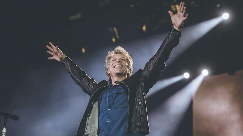Bon Jovi no São Paulo Trip 2017