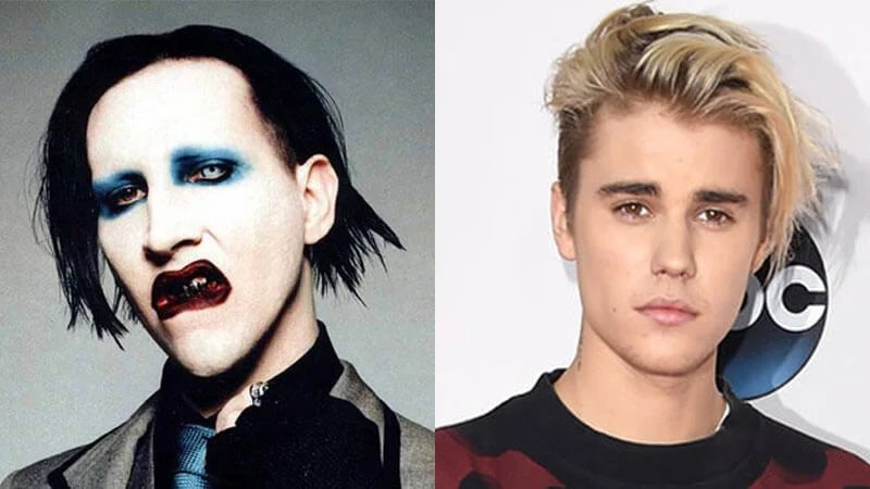 Marilyn Manson e Justin Bieber