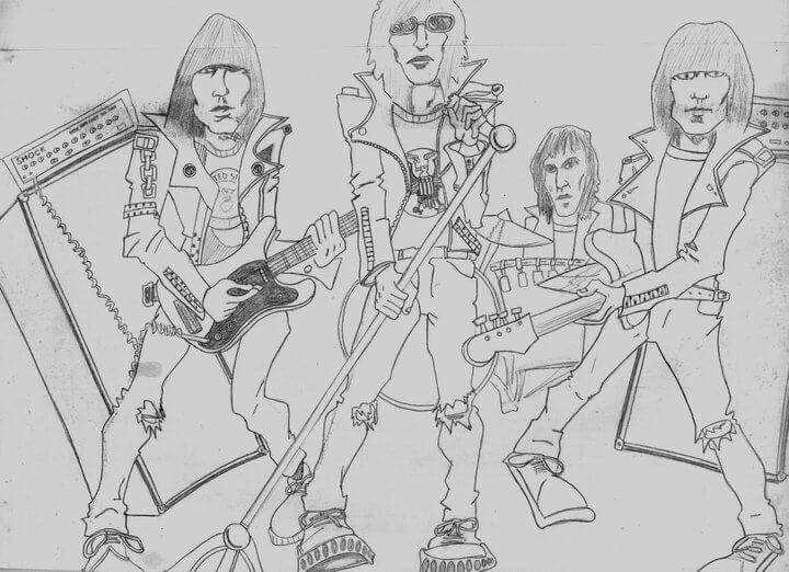 Ramones por Marcelo Sant' Anna