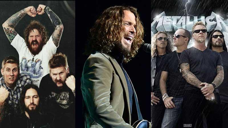 Mastodon, Chris Cornell e Metallica estão entre os indicados do Grammy 2018