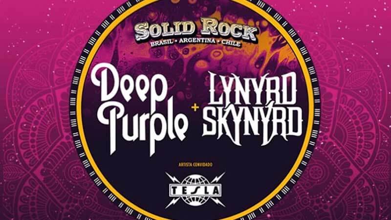 Solid Rock: Lynyrd Skynyrd cancela sua vinda ao Brasil