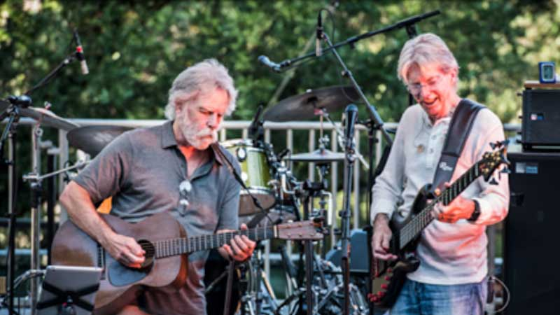 Bob Weir e Phil Lesh do Grateful Dead