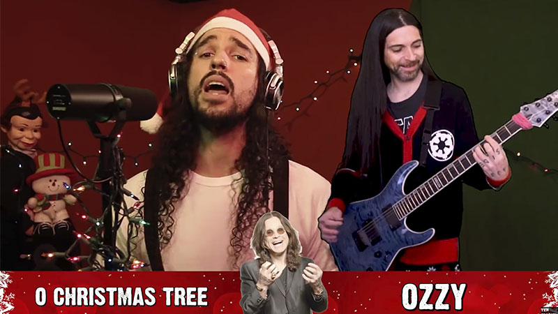 Vídeo: Músicas natalinas no estilo de Ozzy, Metallica, Cradle Of Filth e mais