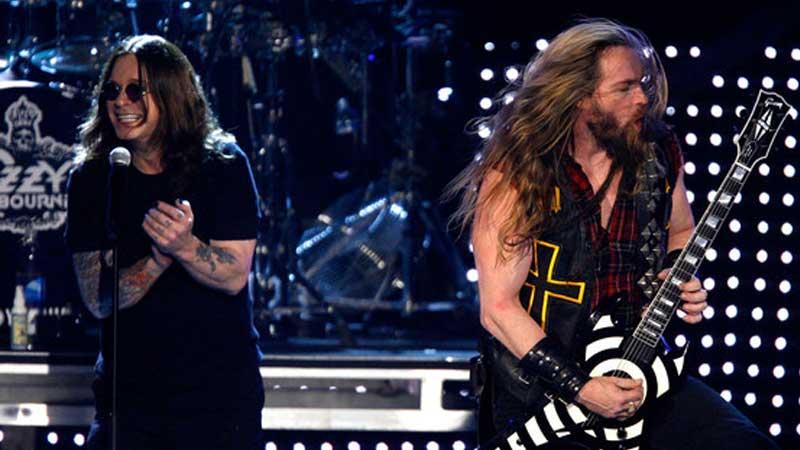 Zakk Wylde e Ozzy Osbourne