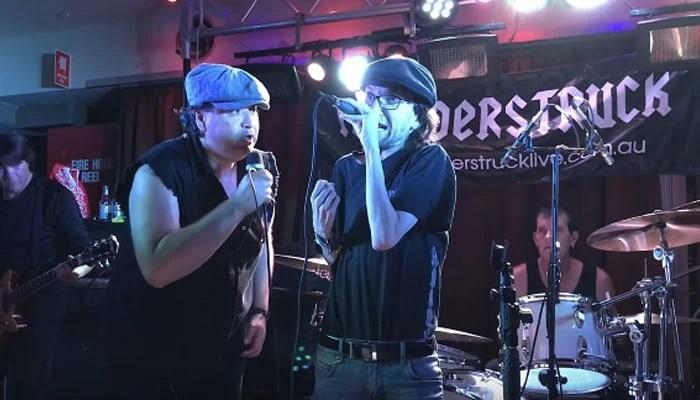 Vídeo: Filho de Malcolm Young toca com banda tributo do AC/DC na Austrália
