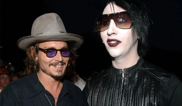 Marilyn Manson e Johnny Depp