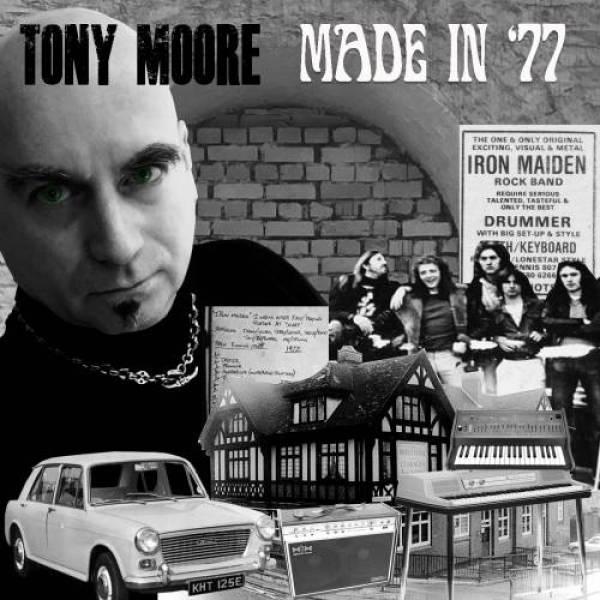 Tony Moore lança música em homenagem ao Iron Maiden