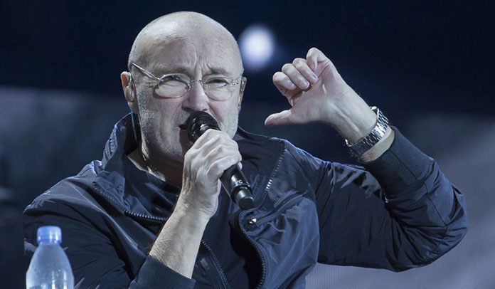 Phil Collins em São Paulo