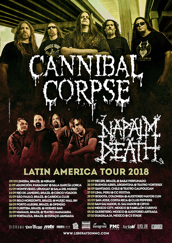 Cannibal Corpse Napalm Death