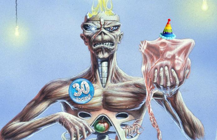 Iron Maiden libera imagens inéditas da capa do Seventh Son Of A Seventh Son