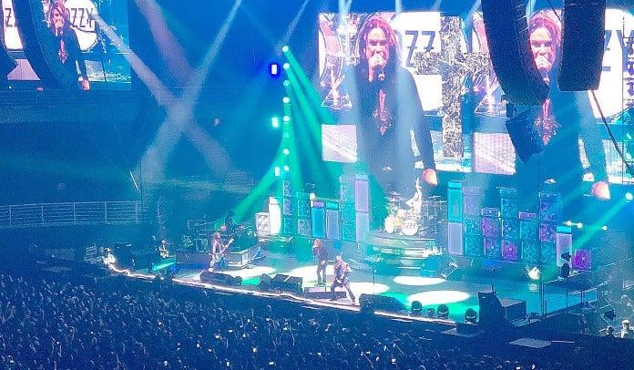 Ozzy Osbourne esbanja carisma e se despede de São Paulo