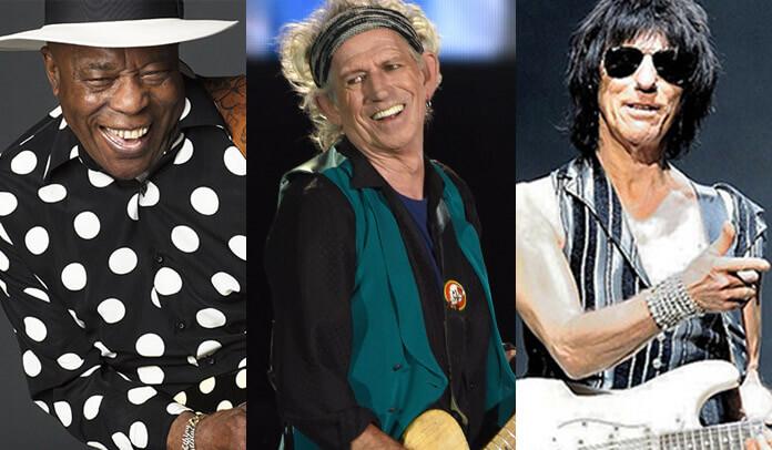 Buddy Guy lança música com participação de Keith Richards e Jeff Beck