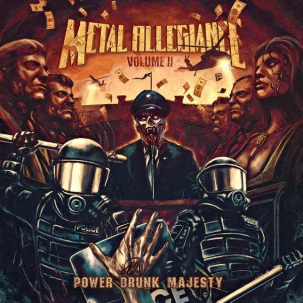 Metal Allegiance - Power Drunk Majesty