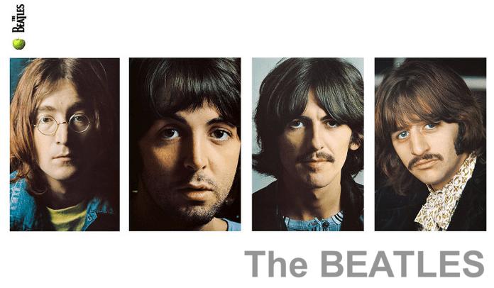 Capa do clássico Álbum Branco dos Beatles