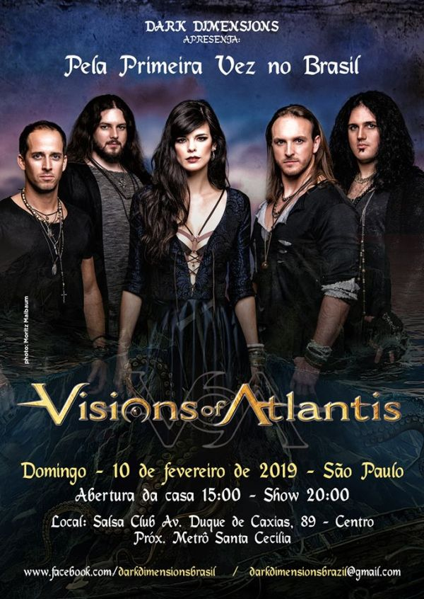Visions Of Atlantis Brasil 2019