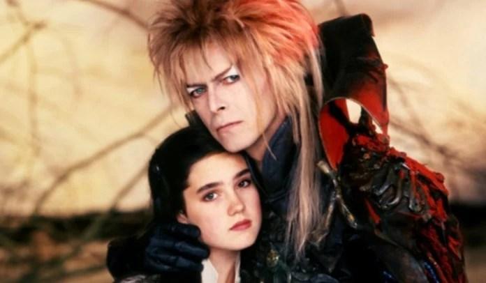 David Bowie e Jennifer Connelly em cena do filme Labirinto