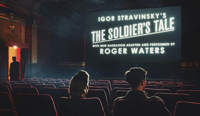 Capa do álbum The Soldier`s Tale (História do Soldado), de Roger Waters